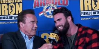 DAS denkt Arnold Schwarzenegger über seinen Doppelgänger Calum von Moger