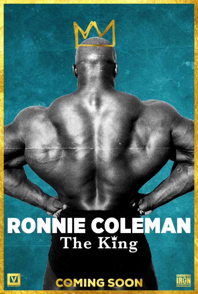 Ronnie Coleman The King Poster