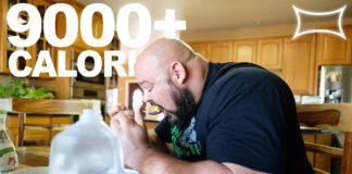 Über 320g Fett und 9000+ Kalorien jeden Tag - DAS isst Brian Shaw vor den Arnold Classics!