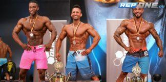 Bilder und Ergebnisse der Men's Physique Klasse beim DBFV FIBO Cup 2018