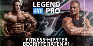 """Legend & Pro - Tom Scheu und Tim Budesheim """"battlen"""" sich beim Fitness Hipster Raten"""