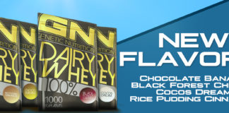 Ab sofort in 55 Geschmacksrichtungen: GN Laboratories Dairy Whey 100%