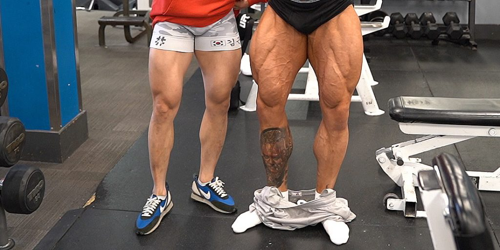Oberschenkel mann dicke Was Männer